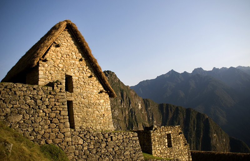 the hut, Machu Picchu