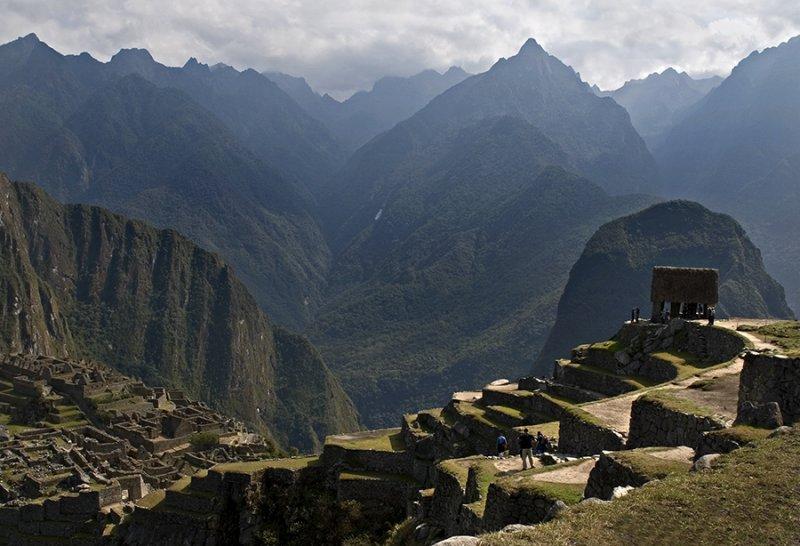 Machu Picchu Morning