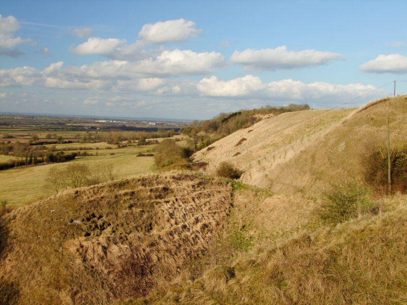 Looking north east from the top of BroadTown hill.