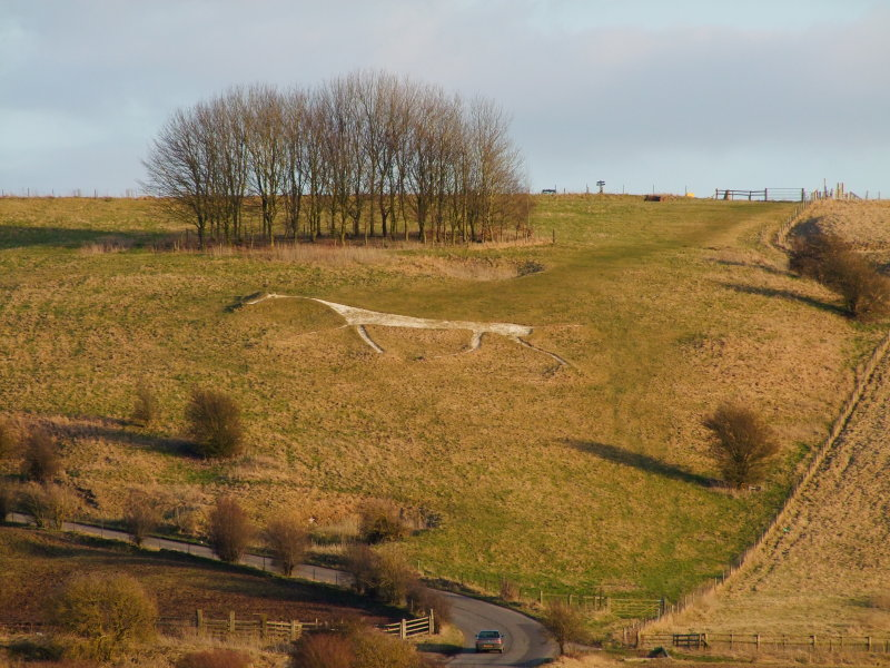 Hackpen  Hill , The  White  Horse.