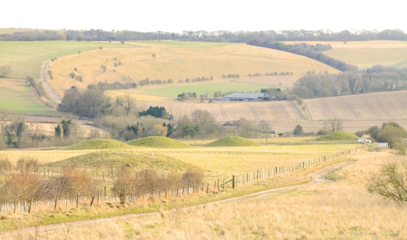 Looking  south  from  Overton  Hill