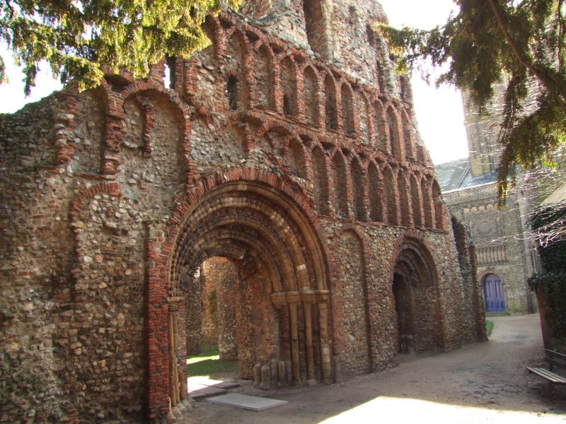 St. Botolphs  Priory  ruins / 2