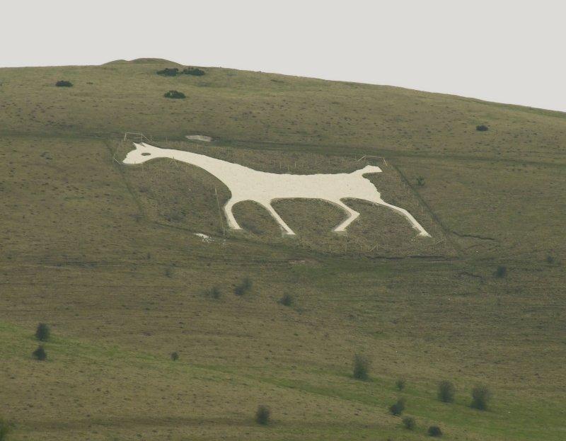 The  Alton  Barnes  White  Horse.