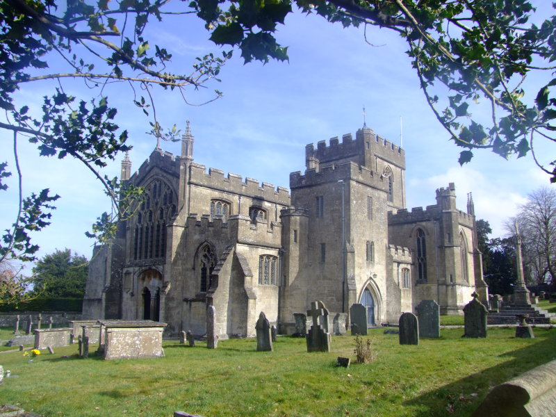 Edington  Priory  Church , looking  east.