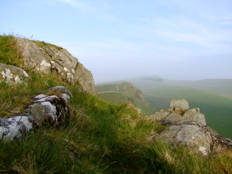 Winshield  Crags  from  Sycamore  Gap.