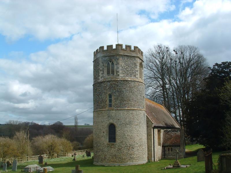 St.Marys Church,Great Shefford,Berks.