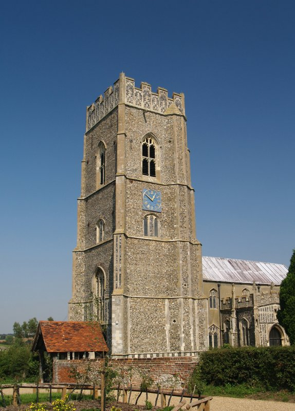 St.Marys Church,Kersey