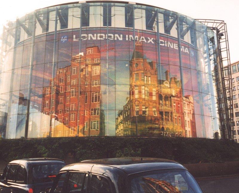 Reflections on Imax cinema.