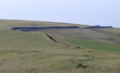 Wansdyke  on  Tan  Hill.
