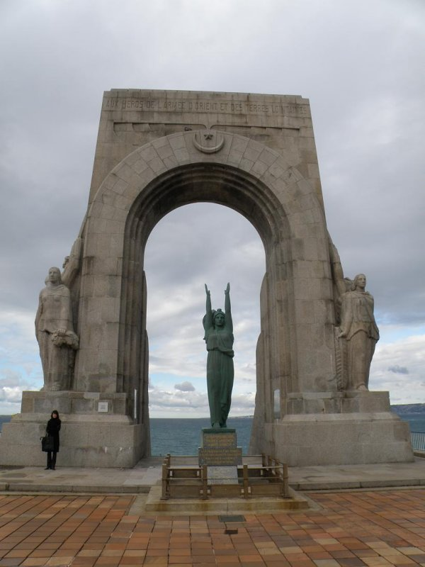 monument to the dead of the Army of the East