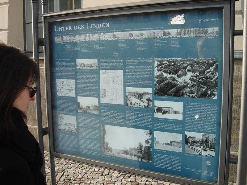 Unter den Linden (und Unter den Cranen!) Boulevard