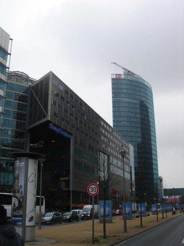 the Sony Center