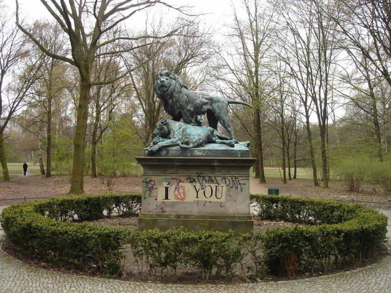 in the Tiergarten (former imperial deer park)