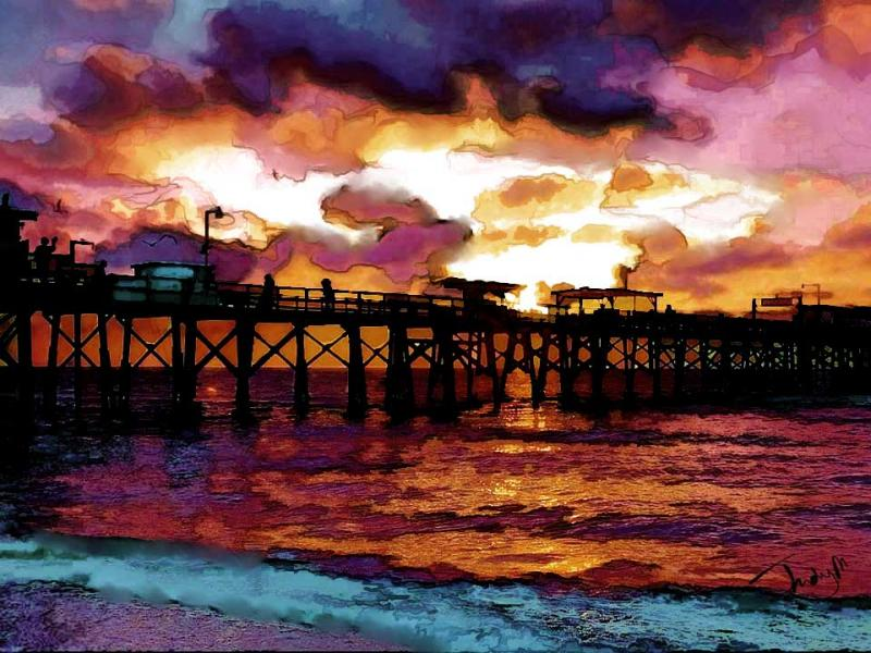 sunset-at-the-pier