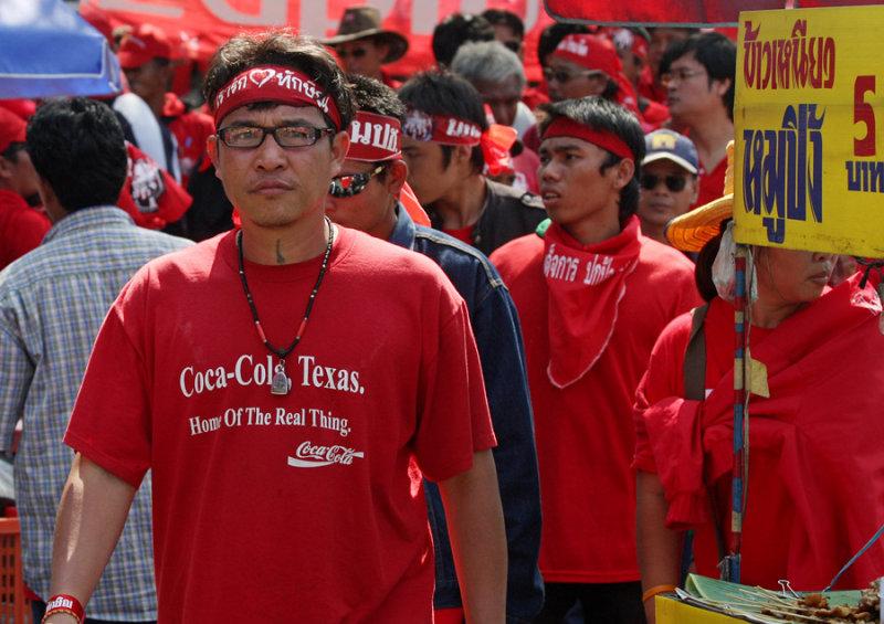 Red Shirts-Bangkok rally