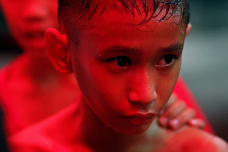Young Muay Thai boxer-Pattaya