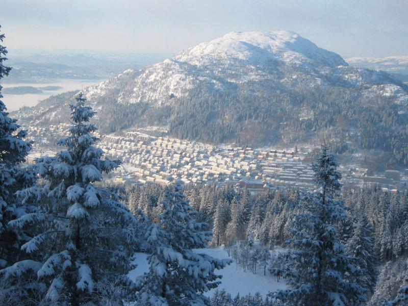 mountain Løvstakken, Bergen