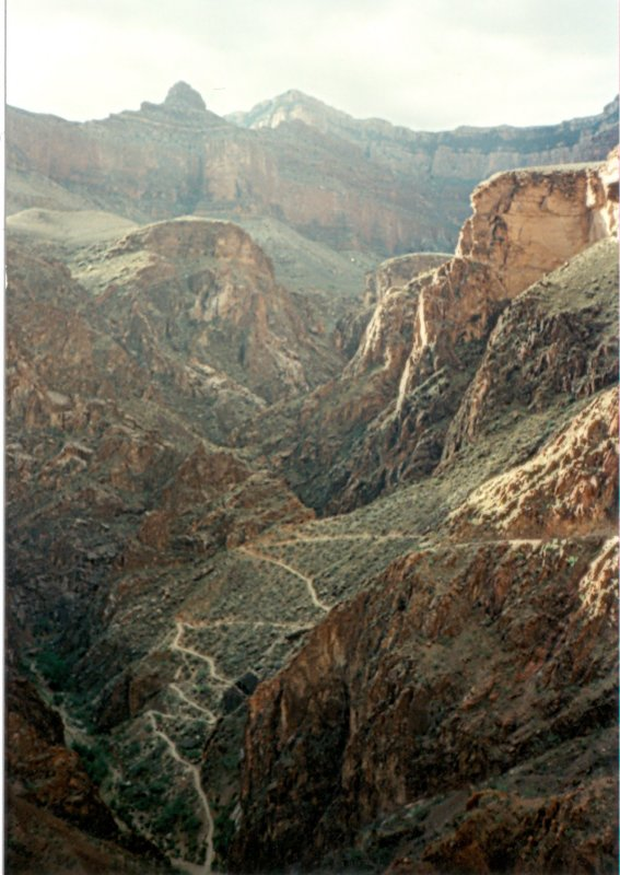 View of the Devils Corkscrew