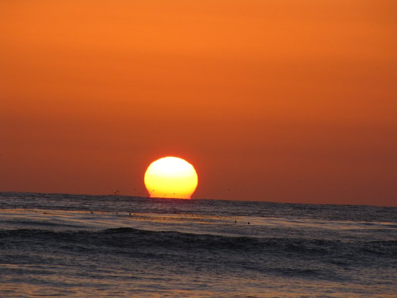 Sunset - Beach in Carlsbad, California
