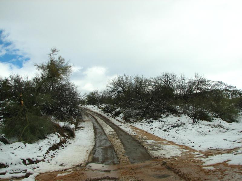 Silver King Mine Road