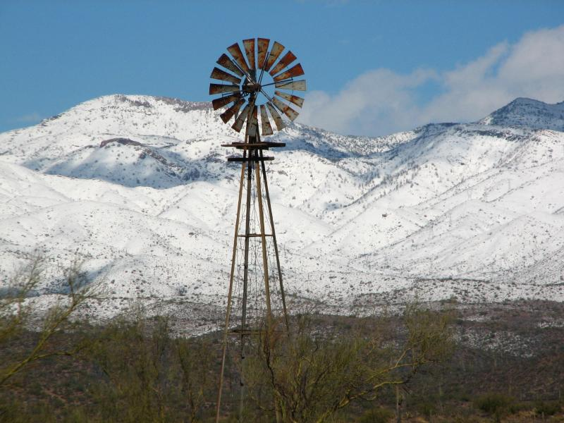 Windmill on Reymert Mine Road