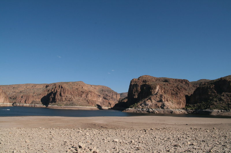 Taken from lake bed out from Acacia Picnic Grounds