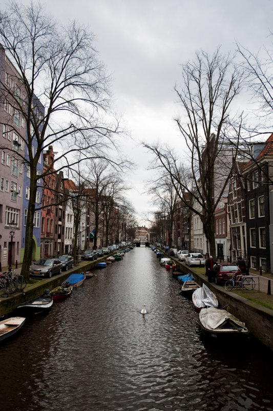 Bad weather on a canal - 022.