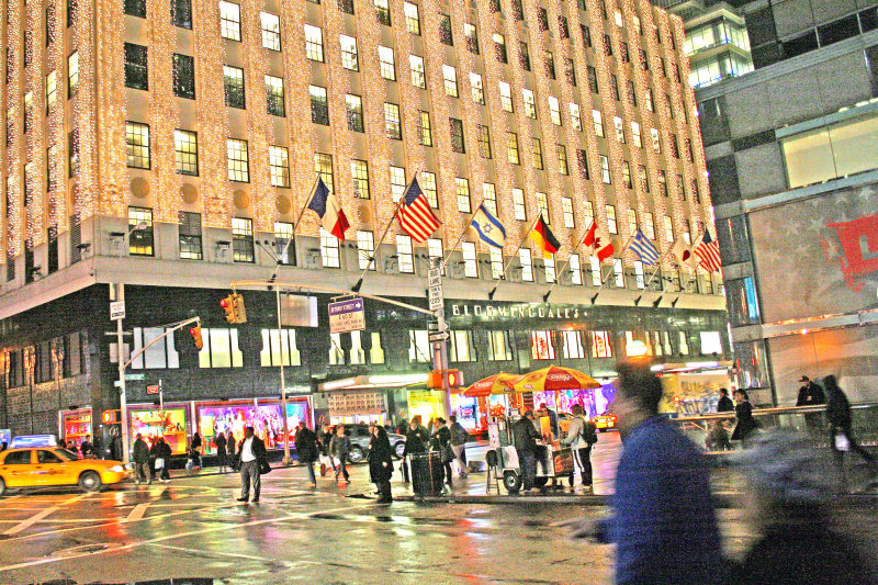 60th street and Lexington Avenue, Bloomingdales, NYC
