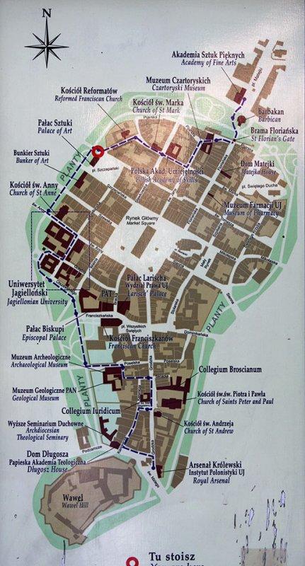 Krakow-City Map