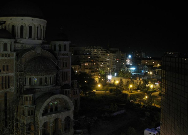 view from Hotel Sarmis