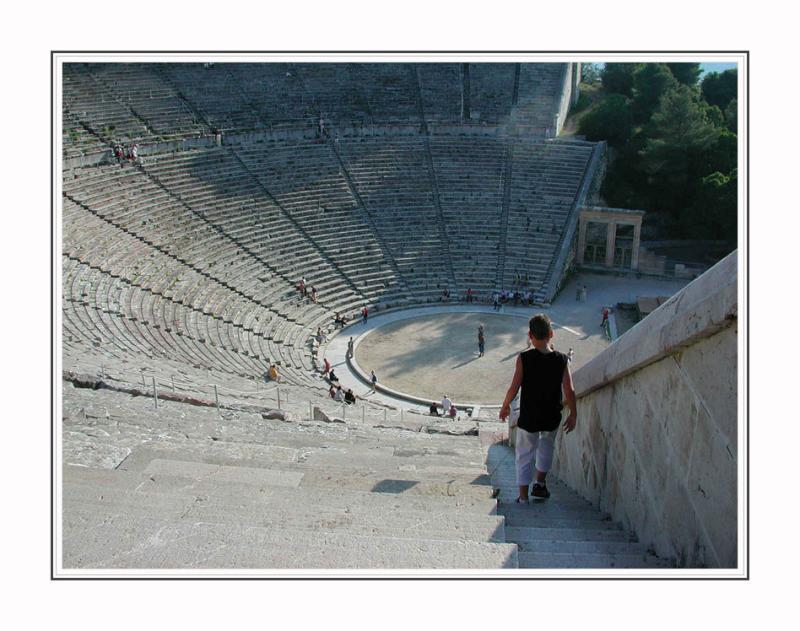 Epidauros,antique theater