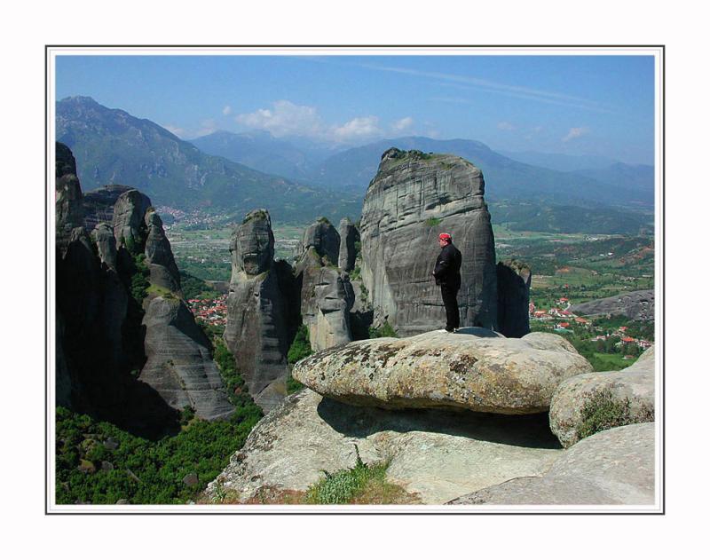 Rocks of Meteora