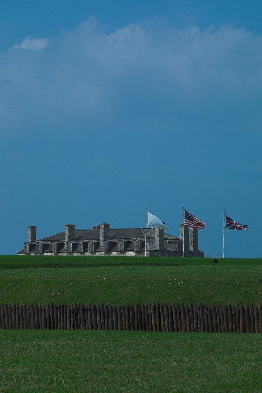 Three Flags Over Niagara