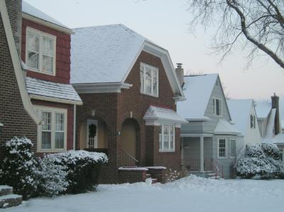 Snow Comes to Buffalo