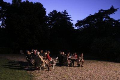 soir�e de jazz au Ch�teau Montpezat