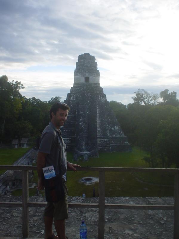 some creep on top of Templo II