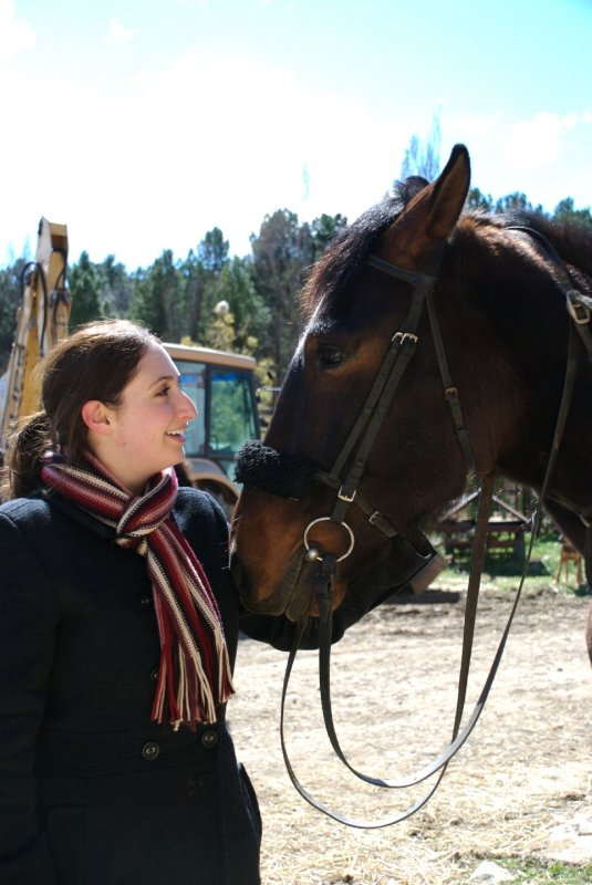 Francine and Horse