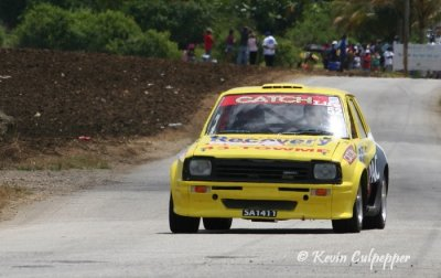 Rally Barbados 2009 - Stuart White, Jason ONeil