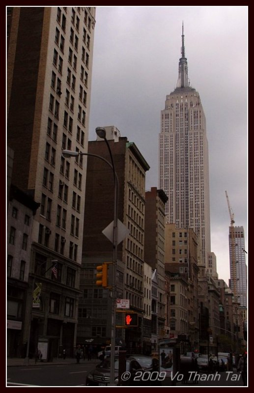 First view of Empire State Building