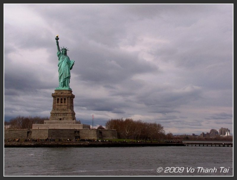 First look at Statue of Liberty