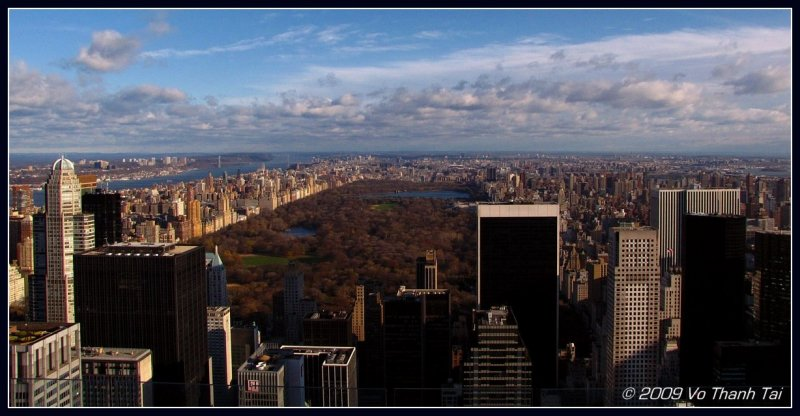 Manhattan and Central Park