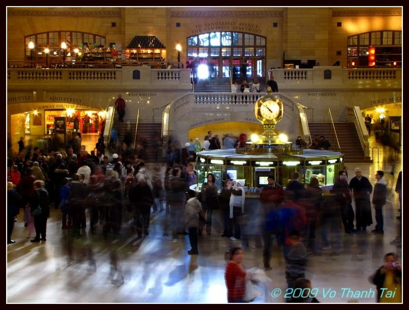 Time Lapse Grand Central Terminal (1)