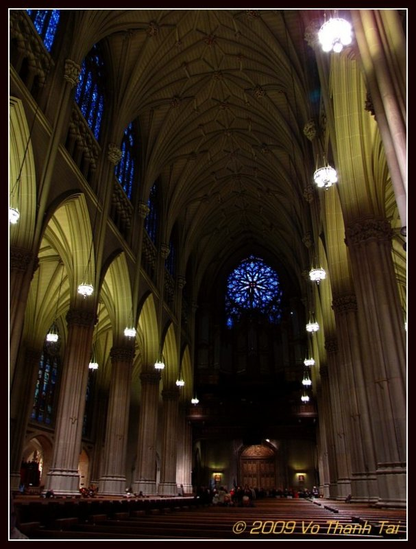 Interior St Patricks Cathedral