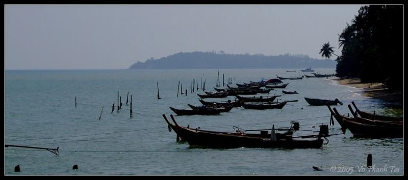Chalongs fishing fleet