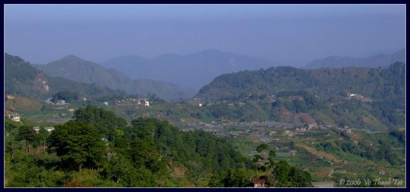 View from Halsema highway