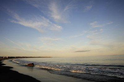 South Shore Beach at Sunset