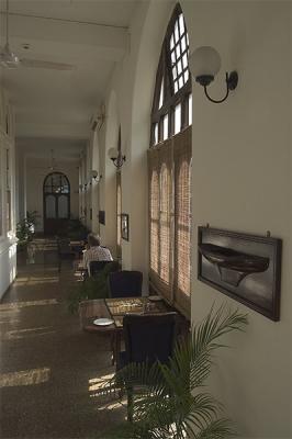 inside the Royal Bombay Yatch Club