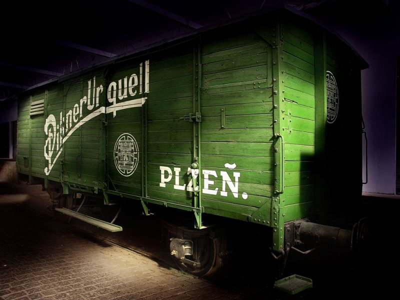 Retired Beer Wagon