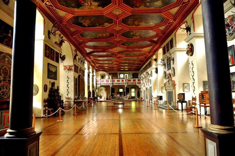 Neuenstein Schloss Reception Hall, Baden-Württemberg
