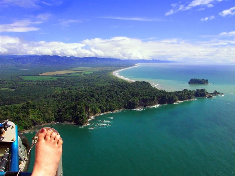 Flying In Style, Manuel Antonio National Park